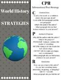 World History Strategy Notecards