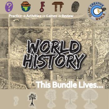World History Supplemental Curriculum Bundle + Free Downloads