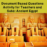 World History Teacher/Sub Activity: DBQ Ancient Egypt