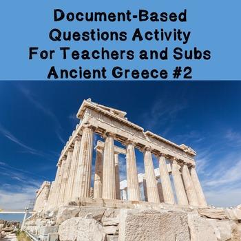 World History Teacher/Sub Activity: DBQ Ancient Greece Part 2