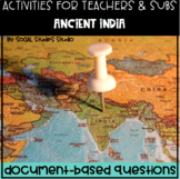 World History Teacher/Sub Activity: DBQ Ancient India