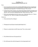 World History Test - Crisis and Absolutism in Europe, 1550–1715