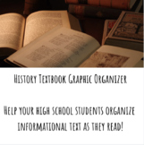 History Textbook Graphic Organizer