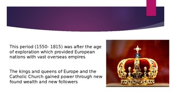 World History The Age of Absolutism PPT 17 slides