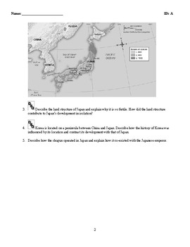 World History - The Asian World (400-1500) Discussion/Essay Questions