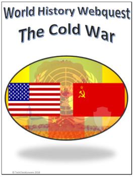 World History - The Cold War Webquest Internet Activity