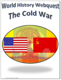 World History - The Cold War Webquest Internet Activity