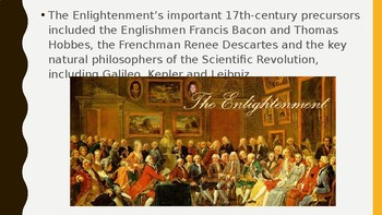 World History The Enlightenment PPT 16 slides