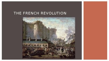 world history the french revolution 69 slides ppt by one stop