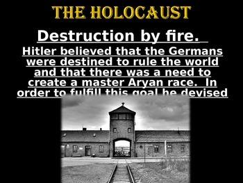 World History:  The Holocaust Power Point