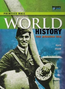 World History: The Modern Era Chapters 12 and 13 Homeworks and Quizzes