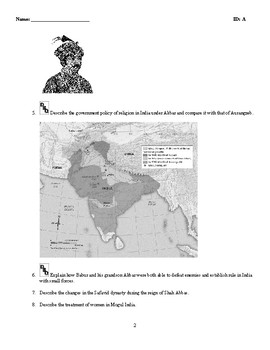 World History - The Muslim Empire - (1450-1800) Discussion/Essay Questions