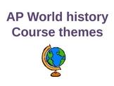 World History Themes and Skills