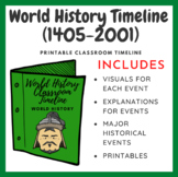 World History Timeline (1405-2001)