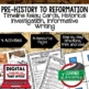 World History Timeline & Writing Activities Paper/Google W