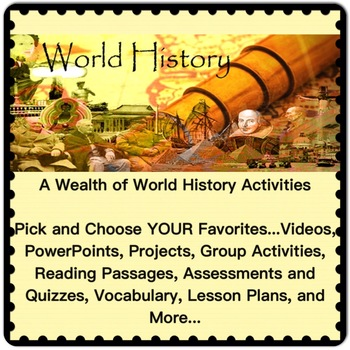 World History UNIT 7 Chapters 30 to 34