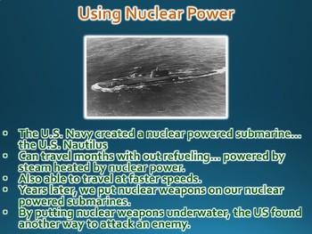 Cold War Atomic Anxiety PowerPoint Presentation (World History / U.S. History)