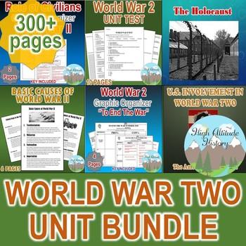World War Two Unit / WW2 WWII  *Unit Bundle* (World History / U.S. History)