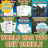 World War 2 Unit Bundle (World History / U.S. History)