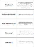 World History - From Civilizations to Empires - Quiz-Quiz-