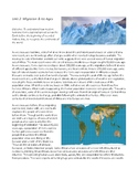 World History Unit 2: Migration & Ice Ages