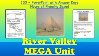 Mega Unit 2-3: Ancient Egypt, Sumer, India, China (Cradles of Civ)+Mega PPT