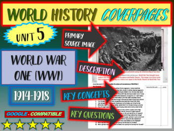 World History Unit 5 study guide: WORLD WAR ONE (Key Terms, Ideas, Qs & more)