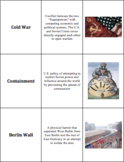 World History - The World After WWII - Vocabulary Cards