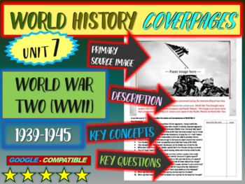 World History Unit 7 study guide: WORLD WAR TWO (Key Terms, Ideas, Qs & more)