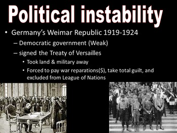 World History Unit 8-Rise of Totalitarian Governments