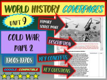 World History Unit 9 study guide: COLD WAR 60s-70s (Key Te