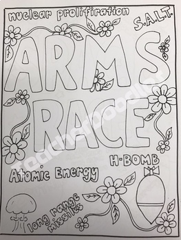 Complete World History Vocabulary Coloring Pages