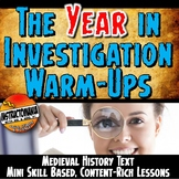 World History Warm-Ups Bundle: Skill-Based,Content Mini Lessons & Bell Ringers