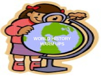 World History Warm ups