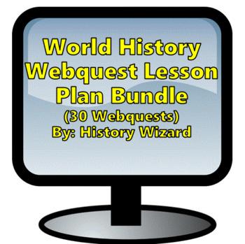 World History Webquest Super Pack (History Wizard)