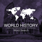 World History Word Search App for iOS