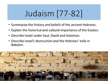 World History: World Religions Powerpoint only