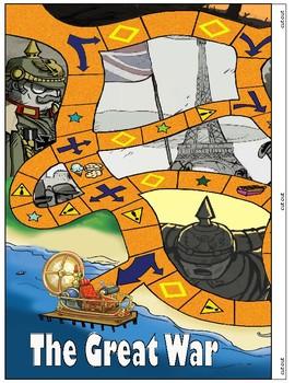 World War I - World History Board Game