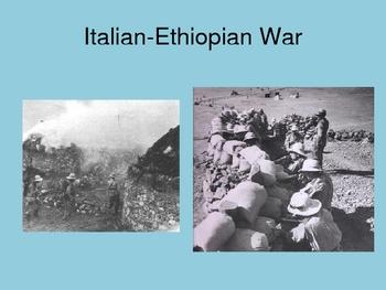 World History World War II