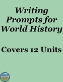 World History Writing Prompts