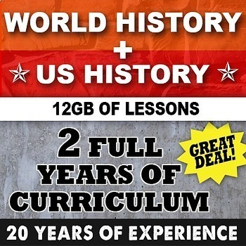 World History Ancient Greece to Cold War & US History Earl