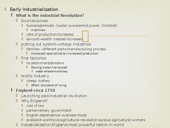 World History from 1500,powerpoint lecture,ch.22,Industrial Revolution,1780-1860