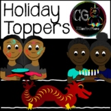 World Holiday Toppers by CG Illustrations