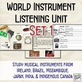 World Instrument Listening Unit: Set 1