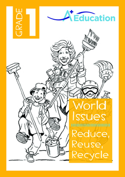 Reduce Reuse Recycle Worksheet Teaching Resources