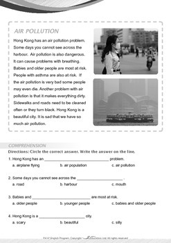 World Issues - Air Pollution - Grade 4