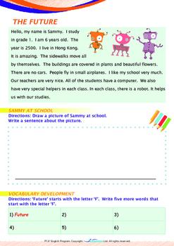 World Issues - The Future (I) - Grade 1