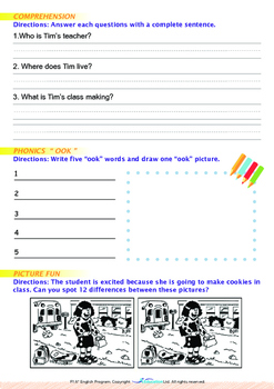 World Issues - Turn Off The Water (I) - Grade 1 ('Triple-Track Writing Lines')