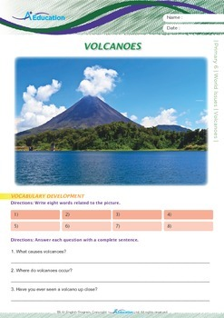 World Issues - Volcanoes - Grade 6