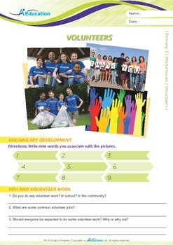 World Issues - Volunteers - Grade 3